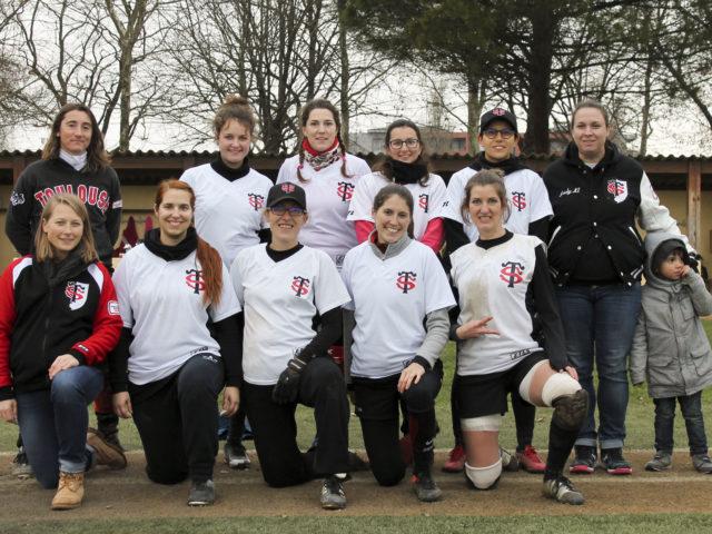 equipe softball feminin 2019